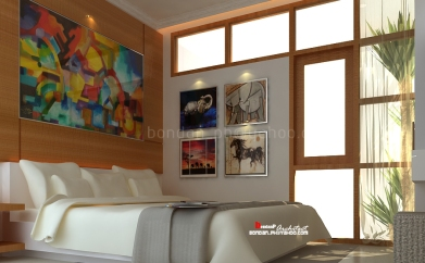Mr. Andy Master Bedroom - Awana House Yogyakarta