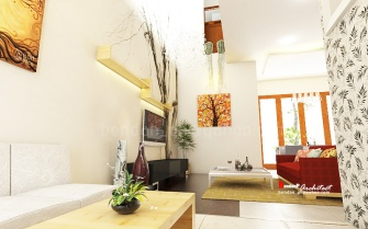 Mrs. LIza Living Room - Yogyakarta
