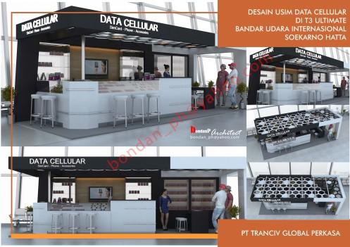 Booth Data Cellular T3 Bandara Soekarno Hatta – Tangerang